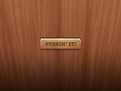 Wooden Button wood 3d button ui interface gui freebie download free psd