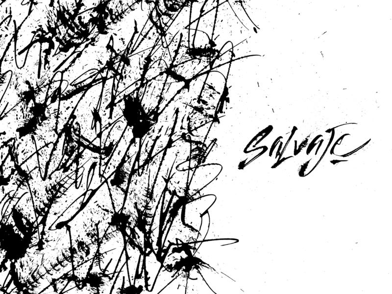 Textura Wild dribbble handmade gestual black and white texture pattern ink cola pen calligraffiti typographyart typography expressive typography expression caligrafia calligraphy