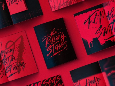 "Fanzine ""the Rolling Stones"""