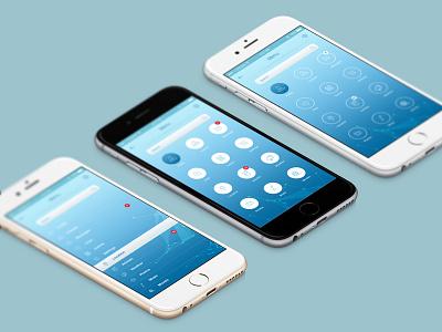 Infinity Mobile Ui Menu - Free PSD Pack ui kit psd free psd mobile ui mobile
