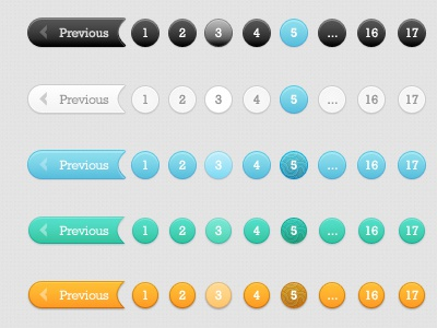 Pagination Styles pagination styles pagination styles fx styles design web website psd free psd
