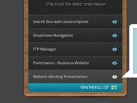 Listing Widget Box