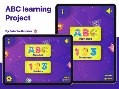 Alphabet Learning Project