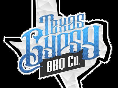 Texas Gypsy BBQ Co logo design