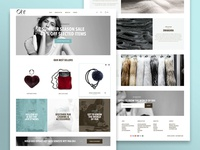 Webshop for danish fashion brand Oh!