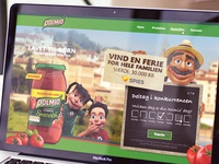 Website for Dolmio