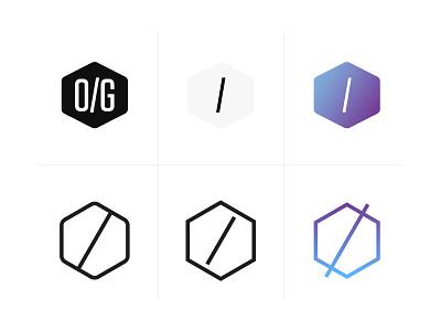 Logo Explorations Part 1 clean minimalist vector identity illustrator logo branding geometric