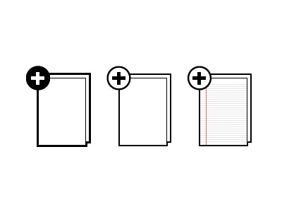 Icons icons illustrator