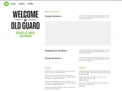 Layout Changes website typography grid layout illustrator