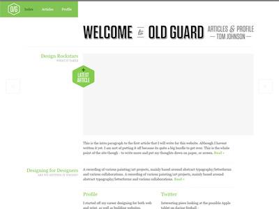 Site Design Rev 4 illustrator website type logo