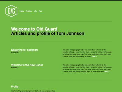 Site Design Rev 6 illustrator website type logo