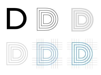 Progression illustrator logo minimalist clean