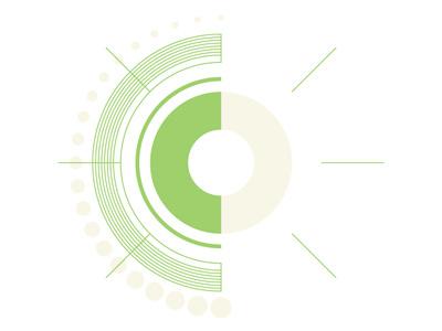 Circle Experiment 1 illustrator experiment vector circles clean