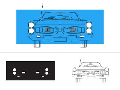 Screenprinting design illustrator screenprinting print illustration vector car printing