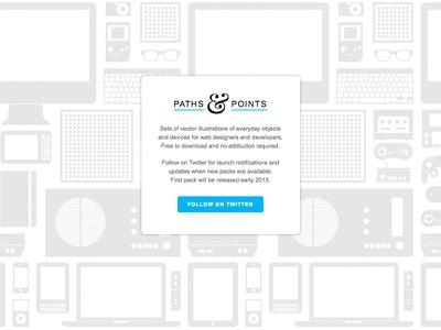 Paths & Points holding page illustrator illustration vector devices printing illustrations vectors