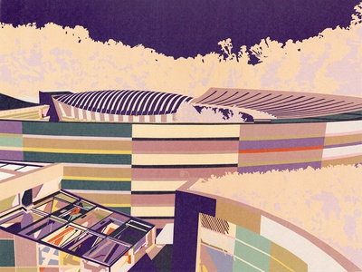 Crystal Bridges Illustration