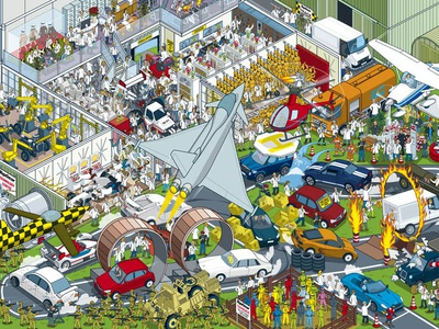 Where's Stig? Motorsport Madness - Ultimate Research Centre