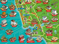 OYO Rooms Goa Map Illustration - Part 2