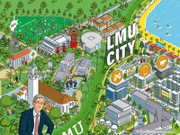 LMU City Advertising Campaign Illustration Pt 1