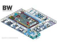 BW: Workplace Experts Site Set-up Guide Infographic Illustration interiors infographic vector adobe illustrator art direction construction business architecture maps infographics map graphic pixel art illustrator isometric illustration