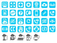 Icons for babyTEL site
