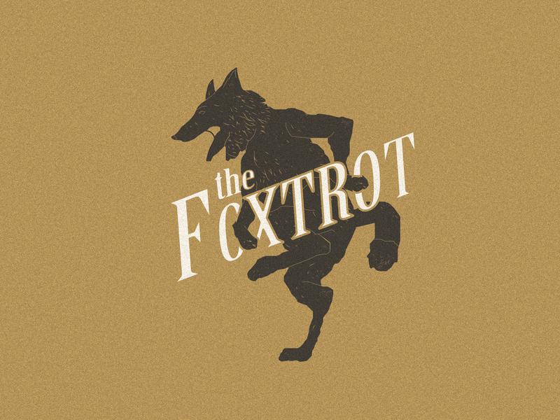 The Foxtrot minimal identity icon character art vector typography logo lettering illustrator illustration graphic design design branding brand