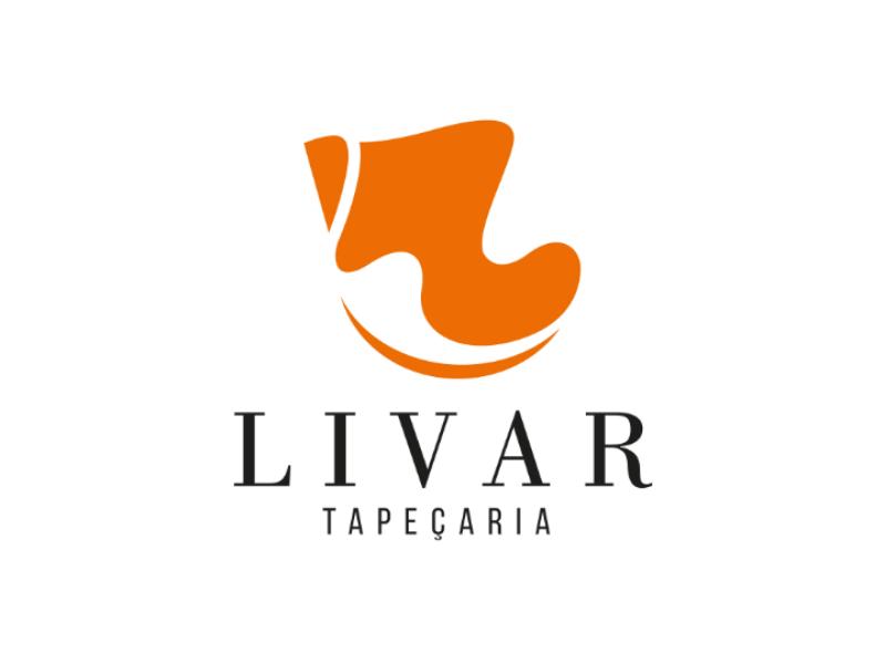 Livar Tapeçaria graphicdesign designgrafico logodesign logotipo logo