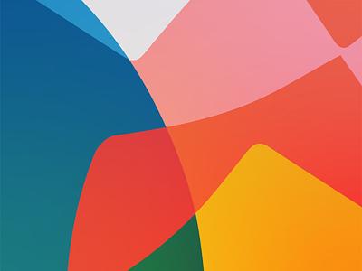 Colourful wallpaper vector graphics graphic  design flat geometry illustration colors design wallpaper design wallpaper
