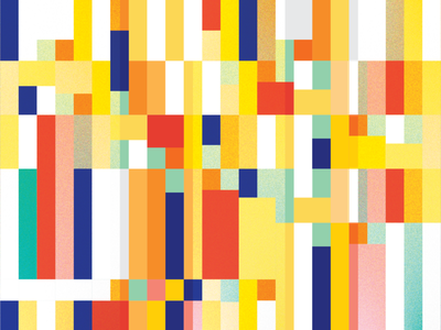 Glitch vector illustration flat design