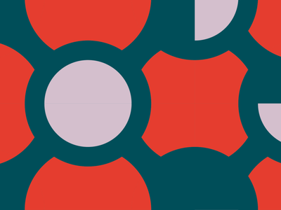 Poppy tiles graphic  design pattern geometry colors vector illustration flat design