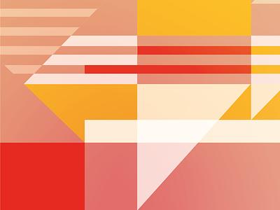 Titanic close up graphic  design architecture geometry colors vector illustration flat design