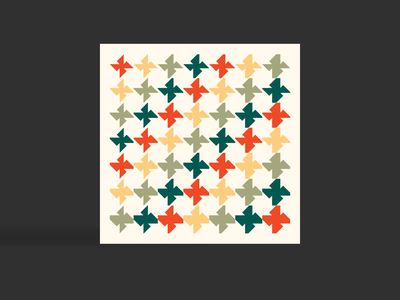 Open tessellation tessellation cards geometric art abstract pattern colours colourful art london graphics graphicdesign branding graphic  design colors geometry illustration vector flat design