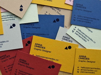 Business cards screen print colourful graphics graphicdesign graphic  design colors illustration geometry flat design