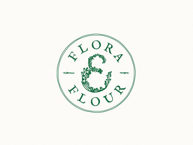 Flora flower logo