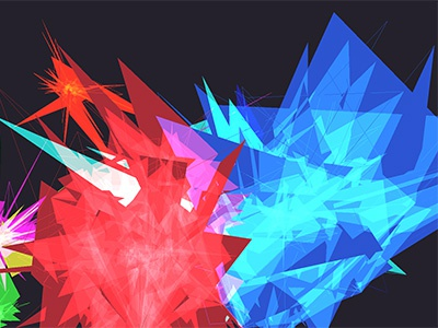 Color Responsive Space motion tracking jitter maxmsp interactive
