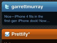 iPhone 4 Ego Widgets