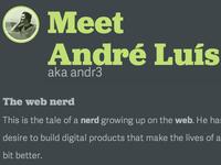 Meet André Luís (well, me!)