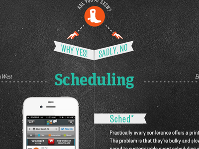 SXSW app guide for The Daily