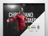 CR7 | Website Redesign