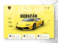 LAMBORGHINI || Concept Website