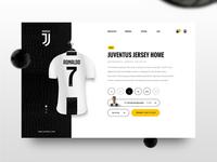 Juventus || Minimalistic Shop Concept
