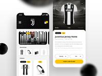 Juventus Mobile Shop Concept || Layout