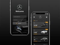 Mercedes-Benz || App Concept Interface
