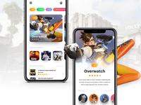 // GAME NEWS // App Concept