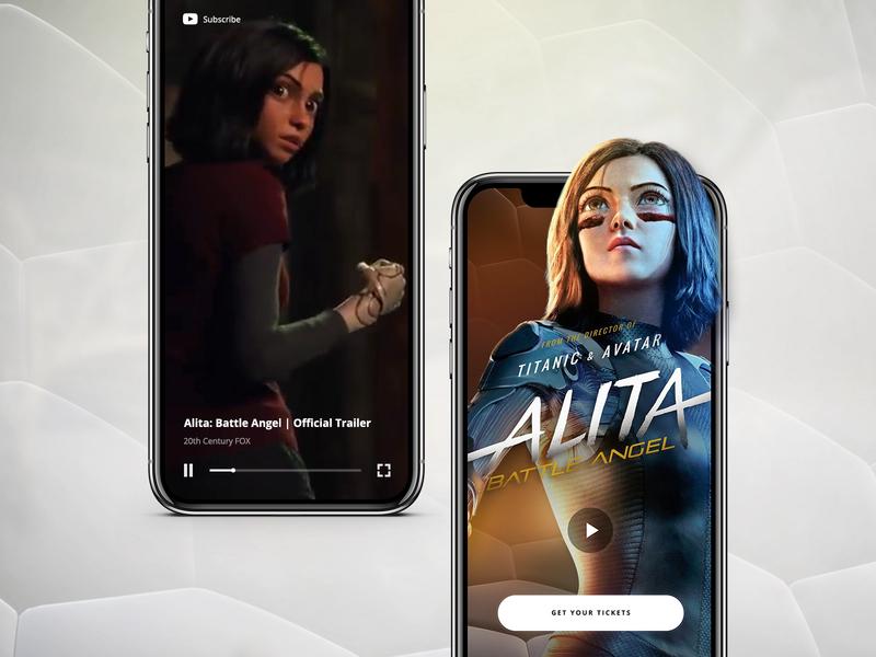 // ALITA: Battle Angel // Mobile concept