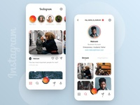 // INSTAGRAM // Redesign Concept for the App