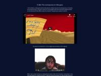 Daily UI #035 - Blog for C-Art