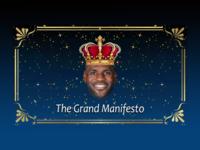 Daily UI #045 Info Card - The Grand Manifesto