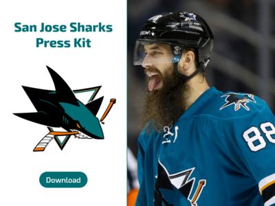 Daily UI #051 San Jose Sharks Press Kit