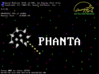 Daily UI #052 Logo Design - Phanta Game